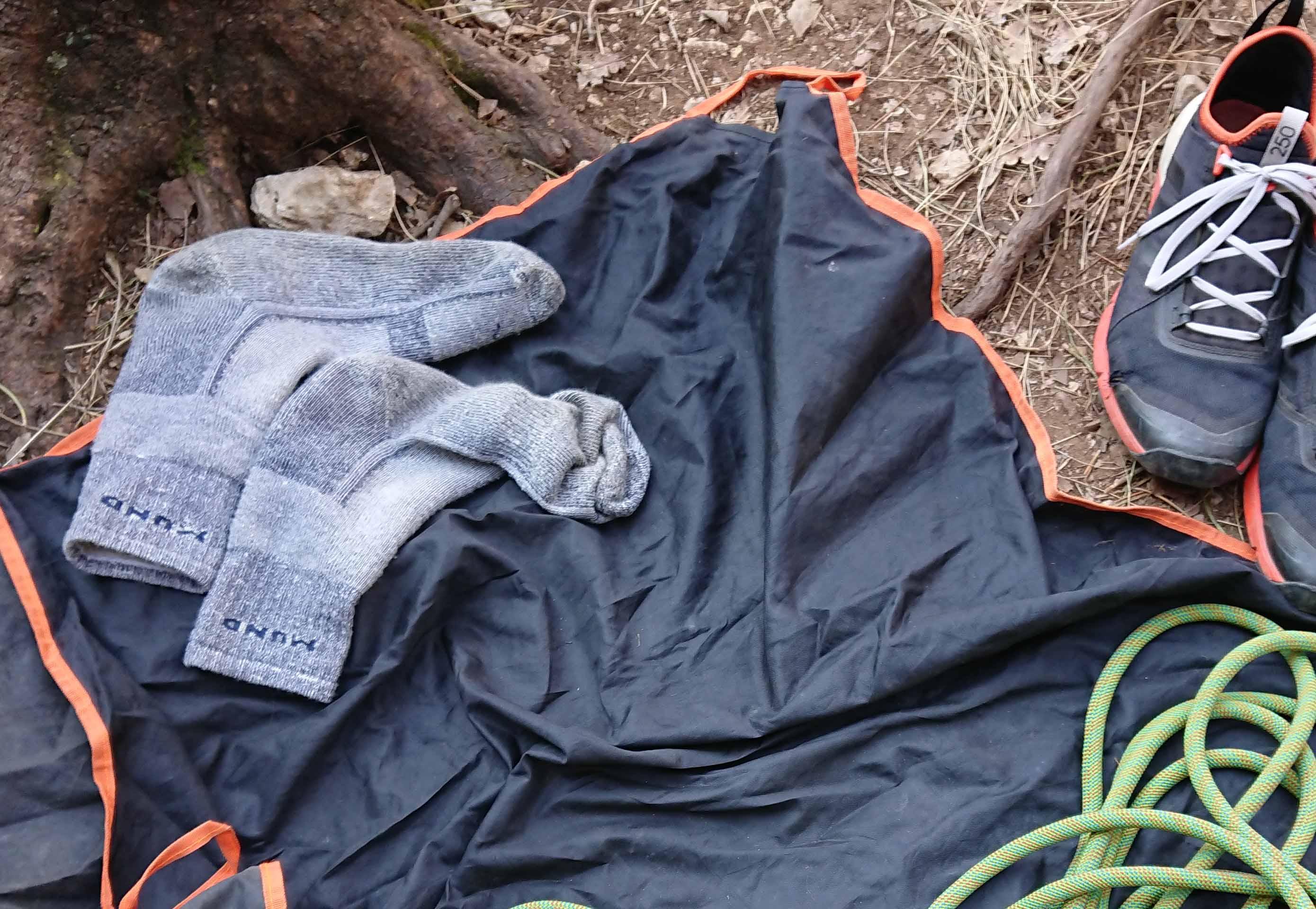Merino ponožky mund altai pod skalami na jar