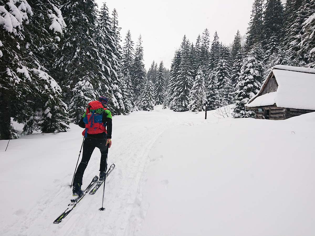 Ponožky merino Mund altai na skialpovom výlete