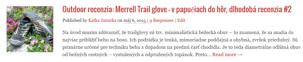 merrell trail glove recenzia