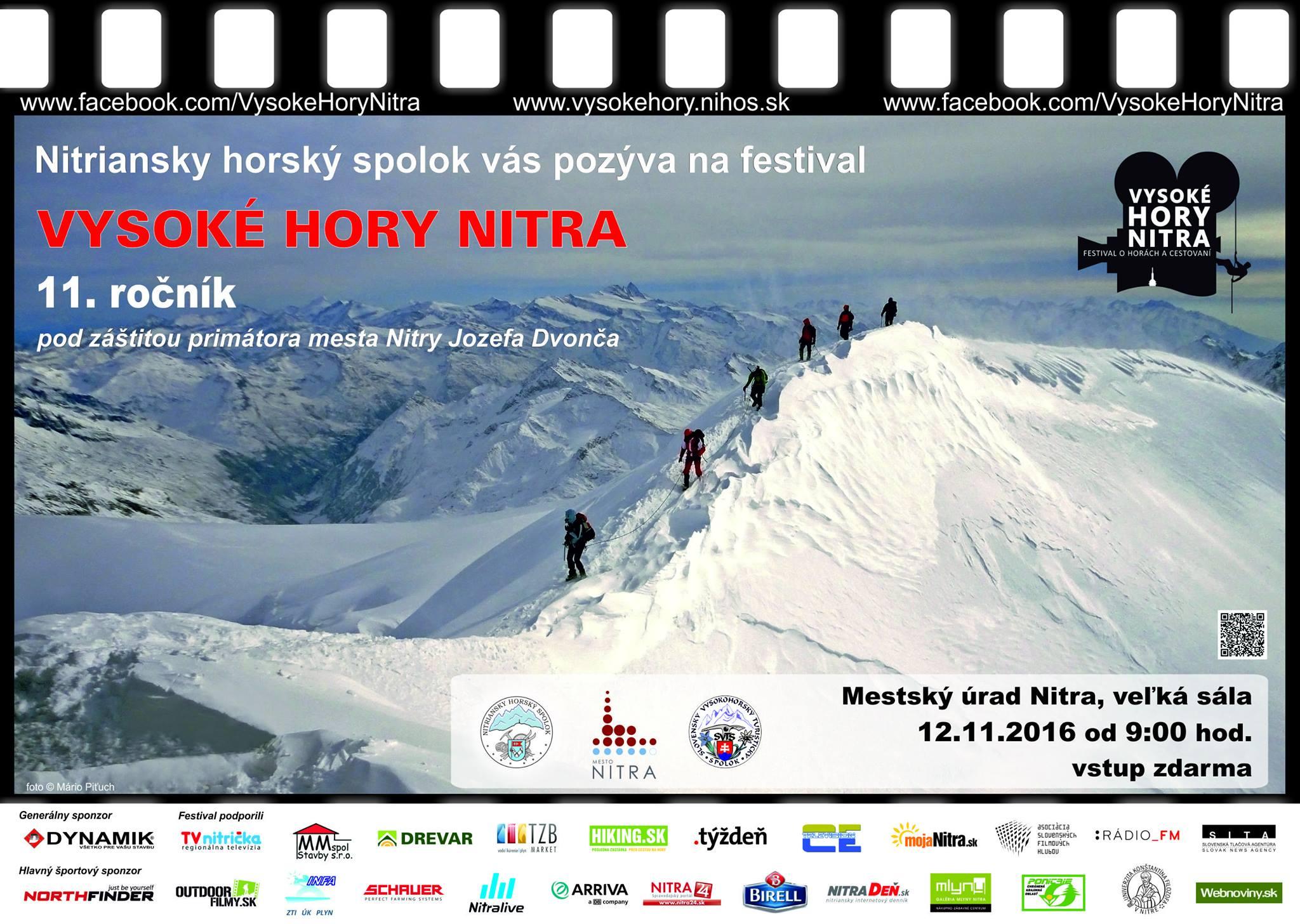 Expresky z hôr 36 - Vysoké hory Nitra 2016, zdroj: FB page festival Vysoké hory Nitra
