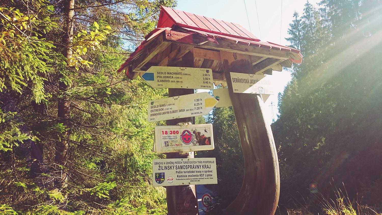 Nízke Tatry cestou okolo demänovskej jaskyne