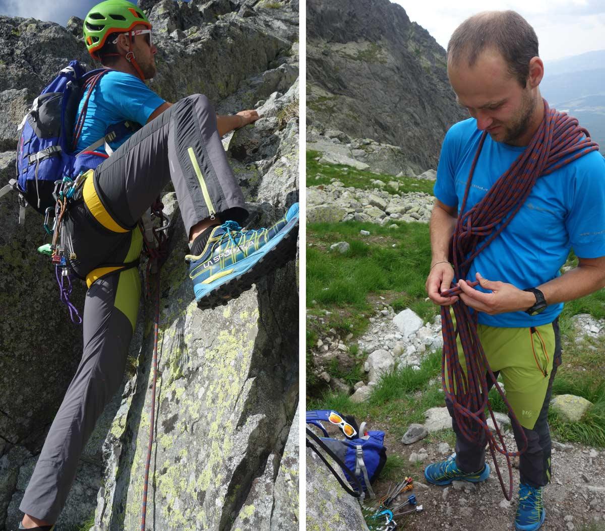 Karpos Rock Fly nohavice vhodné do outdooru, na lezenie a aj na turistiku