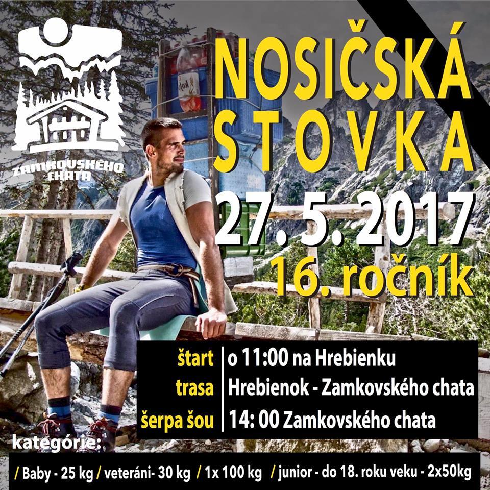 Expresky z hôr 63 - Nosičská stovka 2017, zdroj: FB page Zamkovského chata