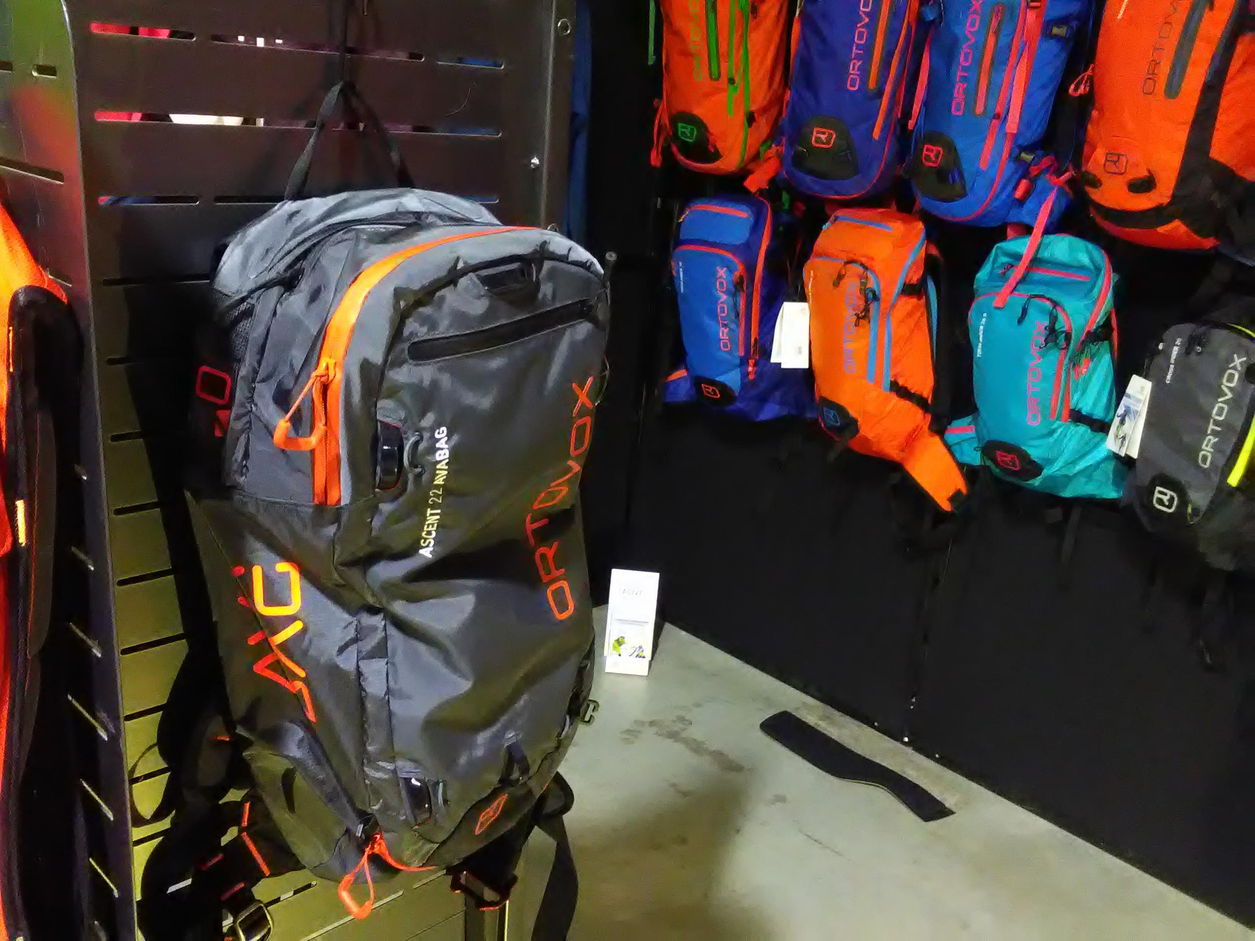 LAvínový batoh ortovox Ascent