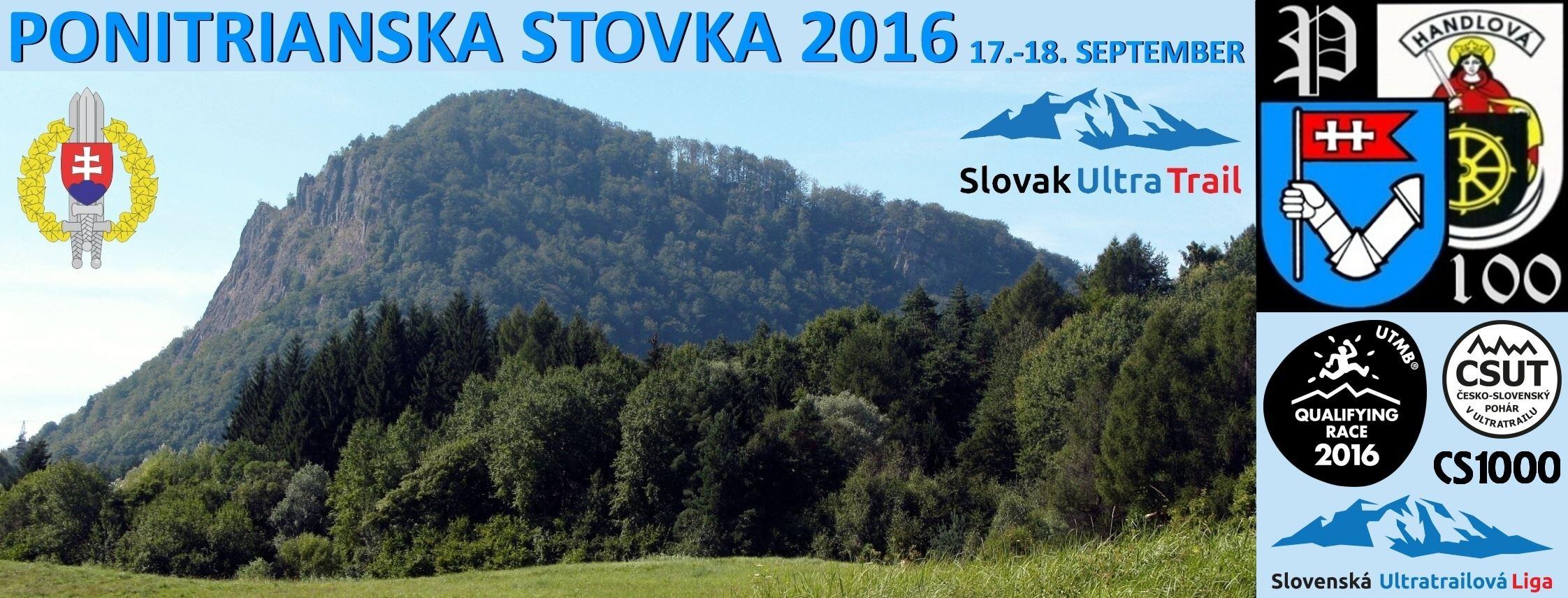 Expresky z hôr 28 - Ponitrianska stovka 2016, zdroj: ponitrianska100.sk