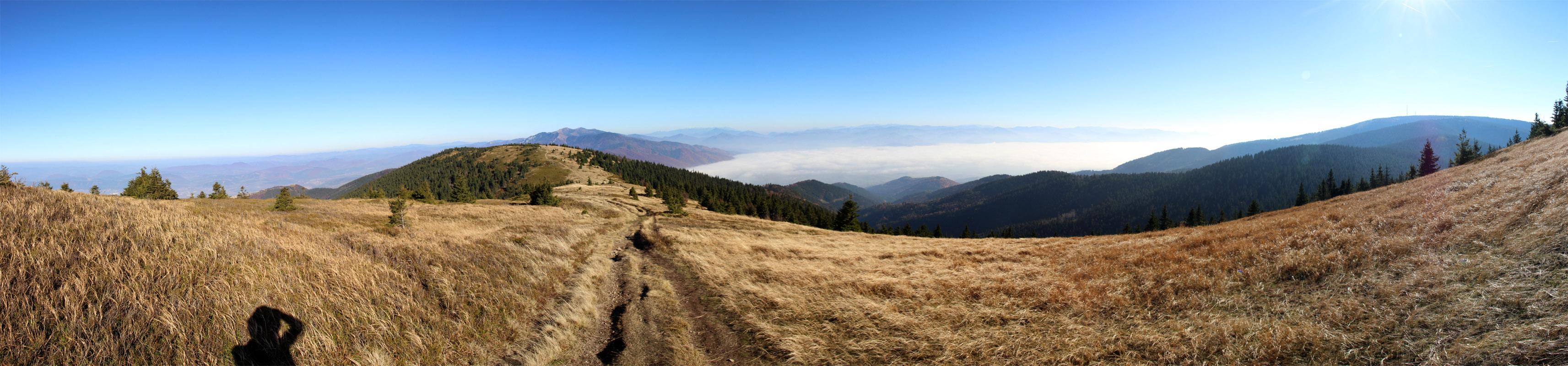 Panoráma z Minčola smerom do Strečna a Turčianskej kotliny