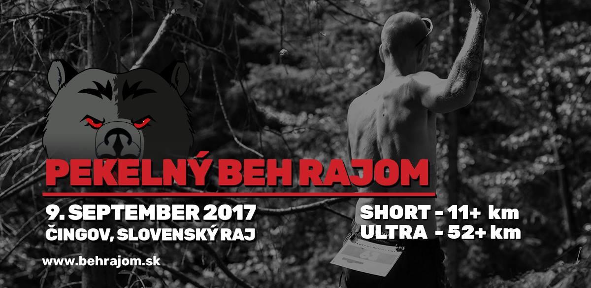 Expresky z hôr 79 - Pekelný beh Rajom 2017, zdroj: behrajom.sk
