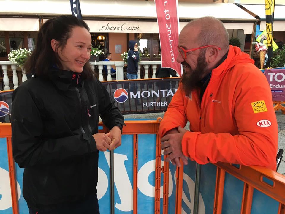 Expresky z hôr 29, Running star Petra Mücková svieža a spokojná v cieli Tor des Geants, zdroj: FB page Montane Slovakia