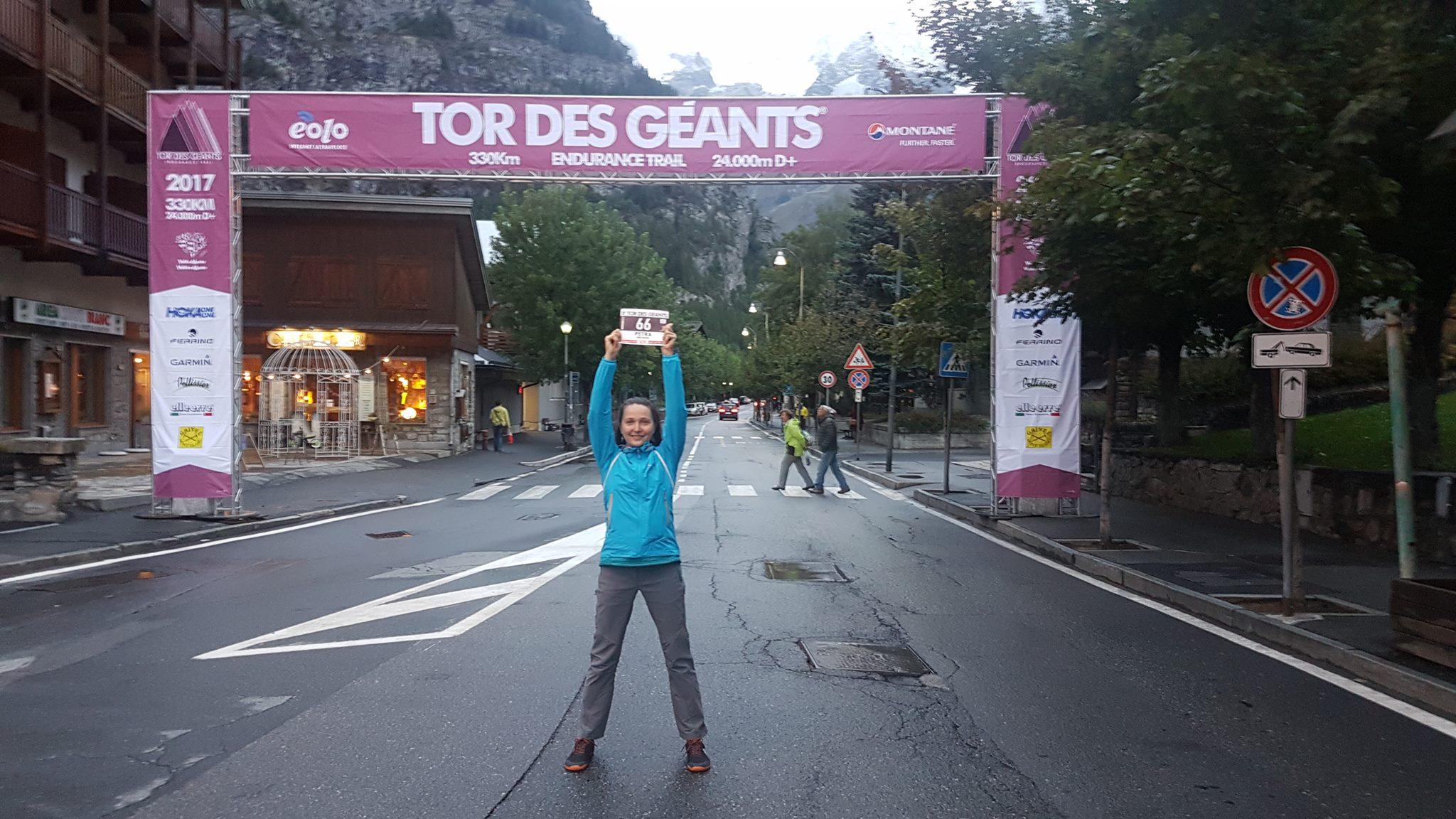 Expresky z hôr 100 - Petra Mücková: Tor des Géants 2017, zdroj: FB event Slovak Ultra Trail