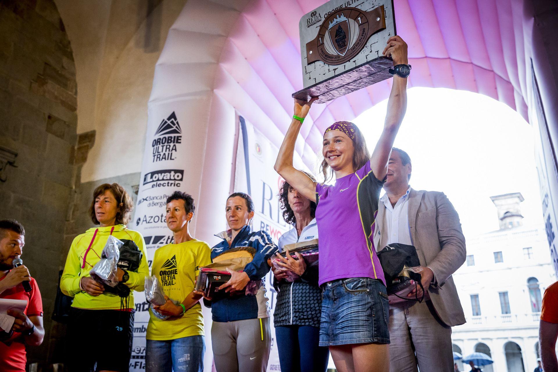 Expresky z hôr 22 - Petra Mücková, víťazka Orobie Ultra-Trail 2016, zdroj: facebok fanpage Orobie Ultra-Trail