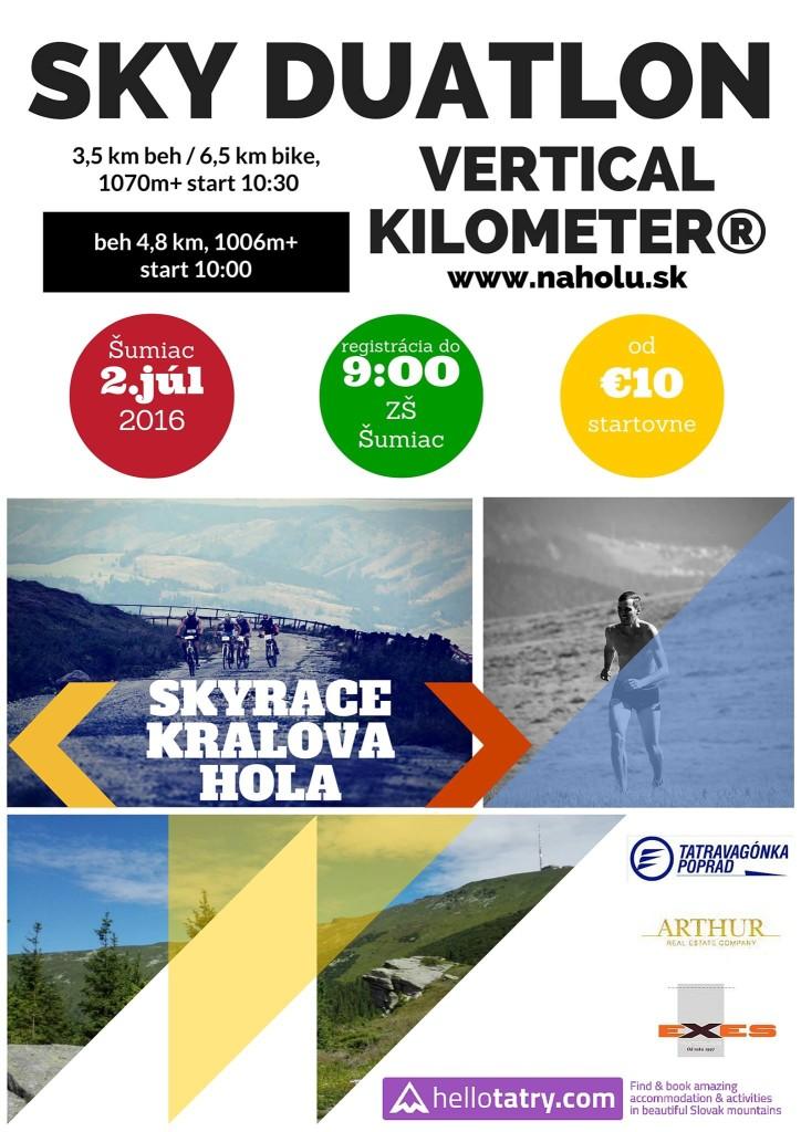 Expresky z hôr 17 - Vertical Kilometer® Kráľová hoľa