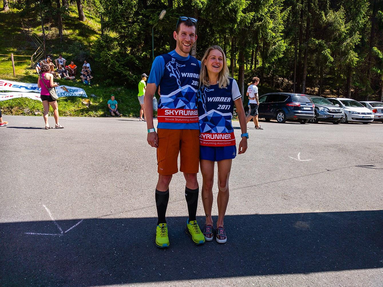 Expresky z hôr 65 - Poludnica run 2017, víťazi, zdroj: FB page SSa