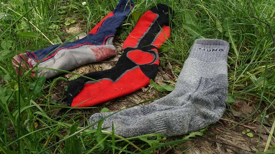 Turisticke merino ponožky, lyžiarské ponožkt a skialpinistické ponožky