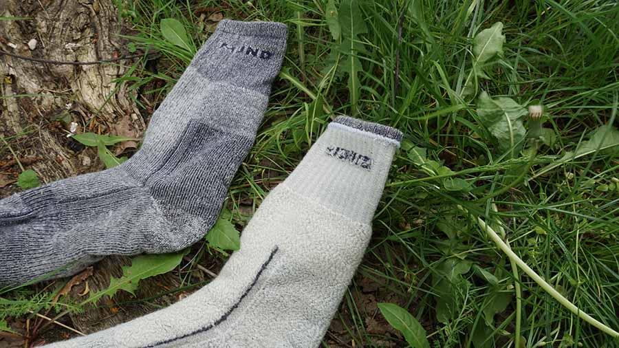 Dvojvrstvové merino ponožky Mund Altai