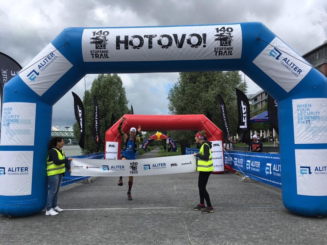 Expresky z hôr 66 - Richard Zvolánek obhajuje vlanajšie víťazstvo, zdroj: FB page stefanikTrail