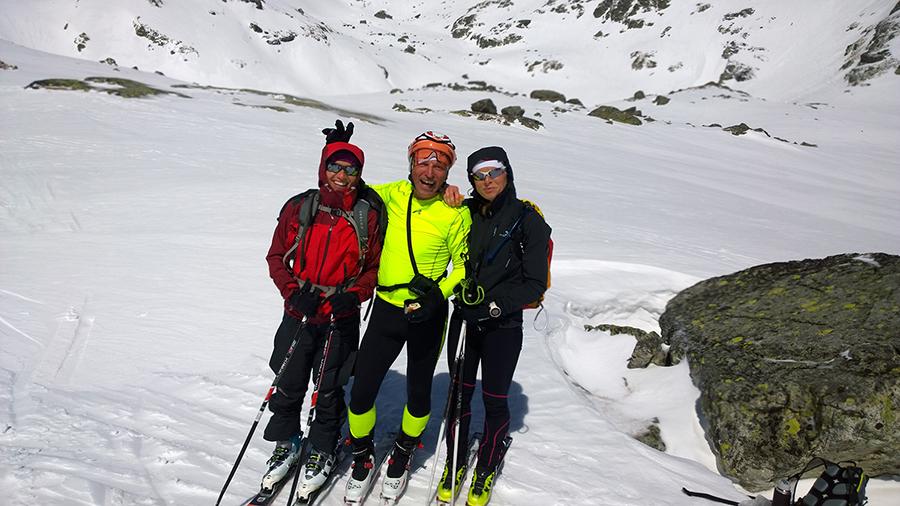 Stretko s kamosmi pri Rozluckovej skialpovacke s Tatrami