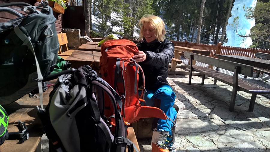 Rozlučka s Tatrami, stretko s Peťou na Zamkovského chate