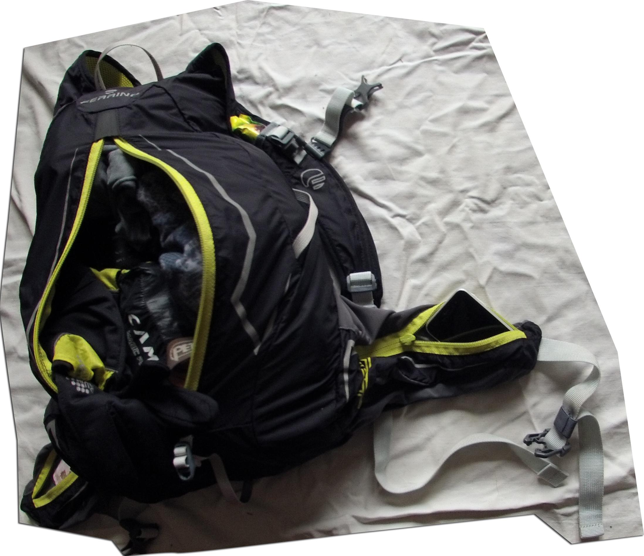 naplnený batoh