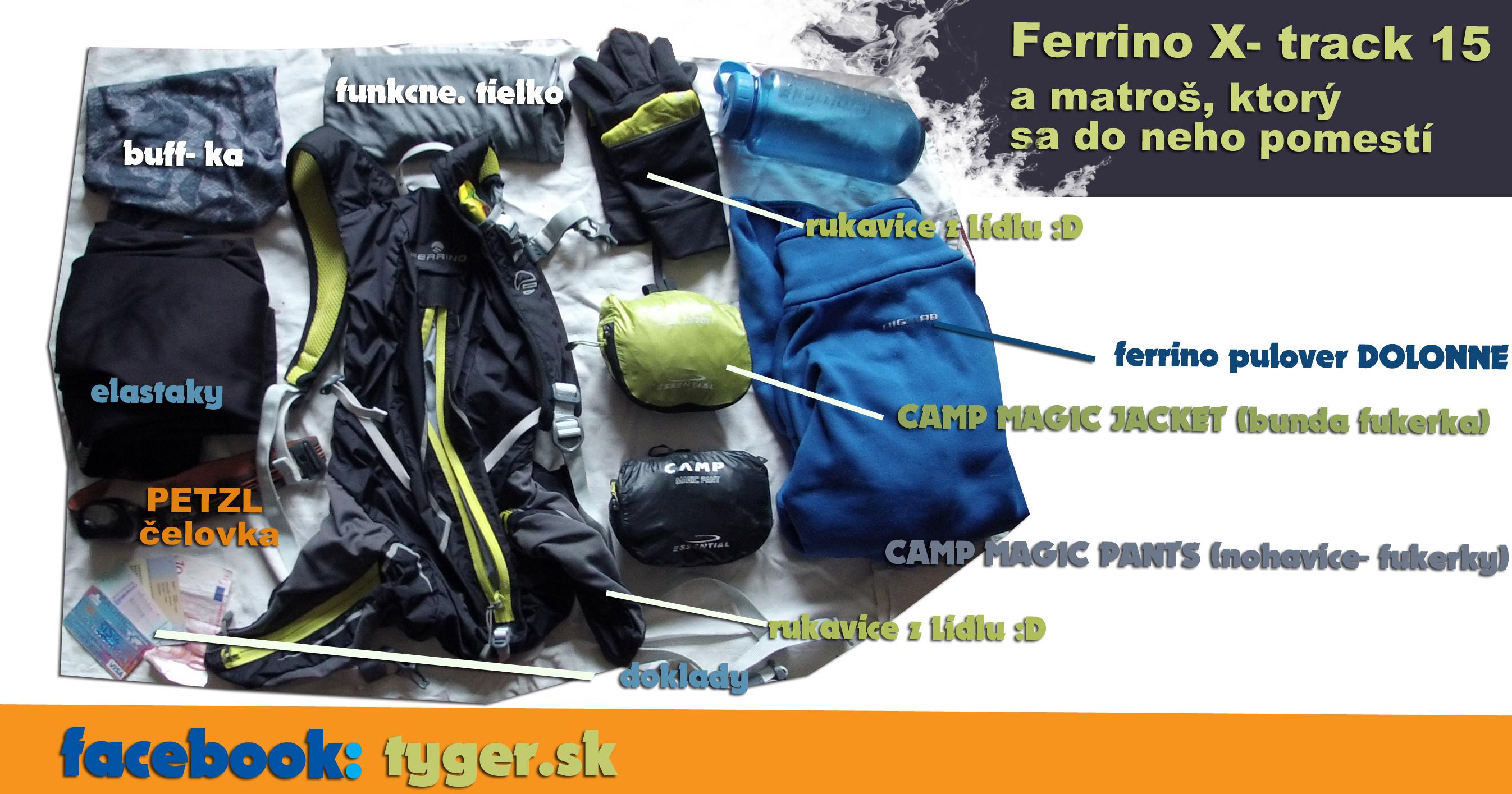 ferrino X track- 15