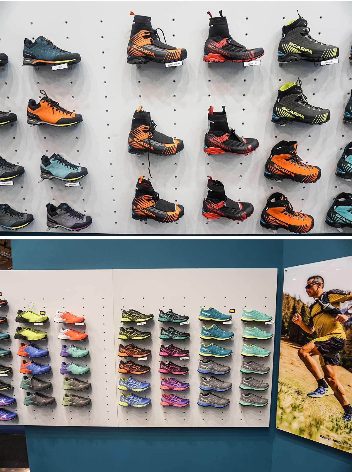Topánky Scarpa majú v kolekcii ponuku pre trailový beh a aj pre vysoké hory
