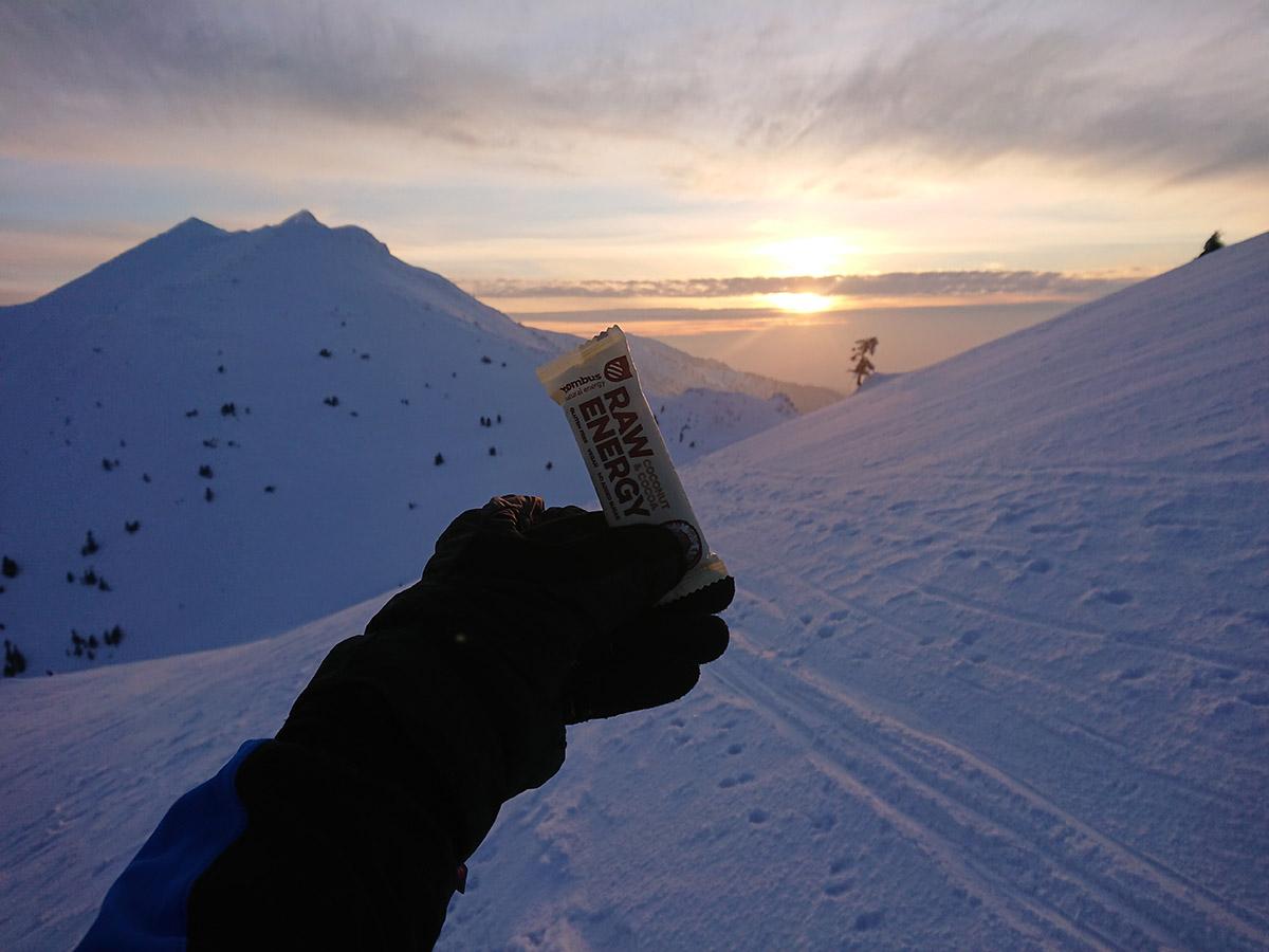 Malá Fatra na skialp lyžiach, hrebeňovka Bombus tyčinky