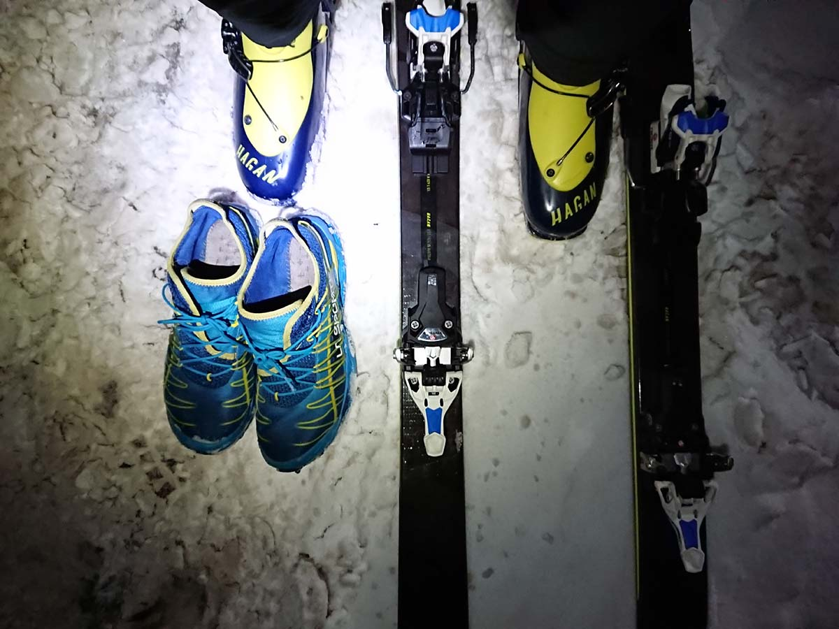 skialpinistické lyže hagan Ultra 76