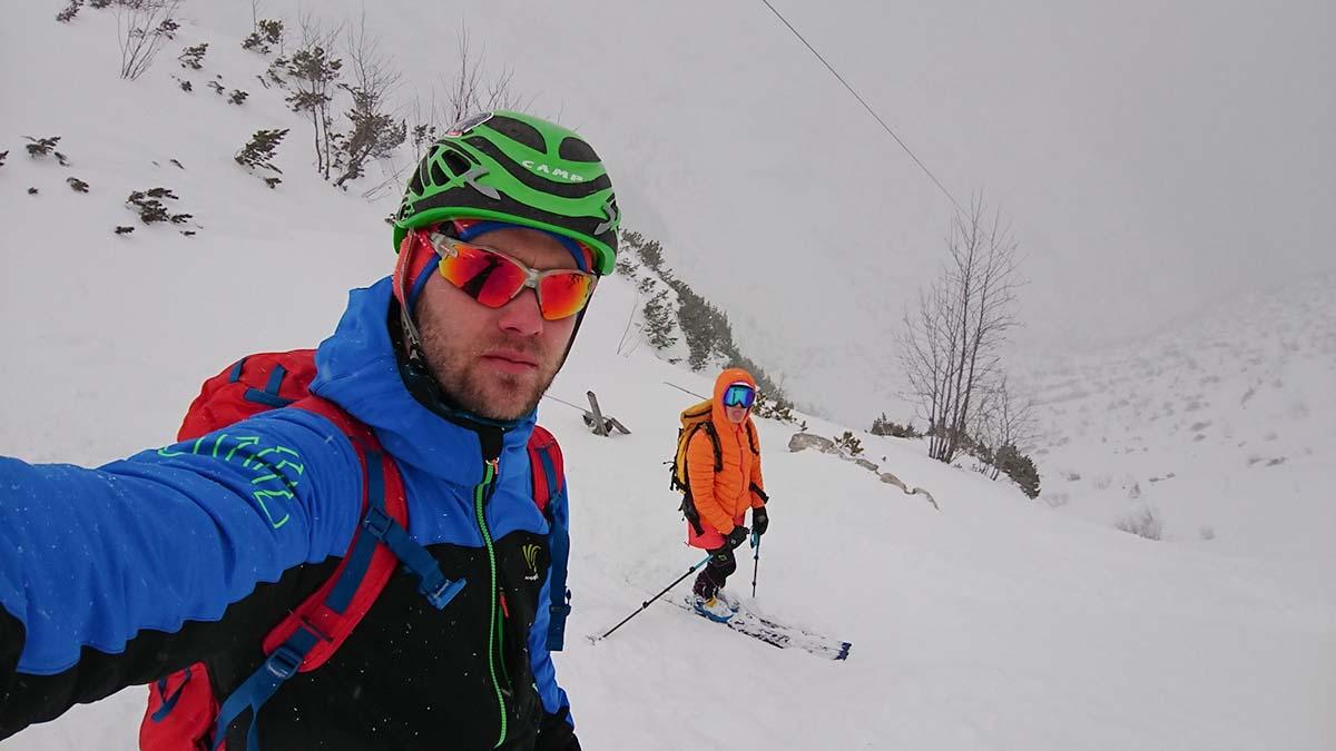 Skialpinizmus pri chate piatich poľských plies