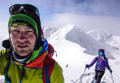 Skialpové klasiky: Hrubá kopa, juhozápadne svahy. Západné Tatry #7