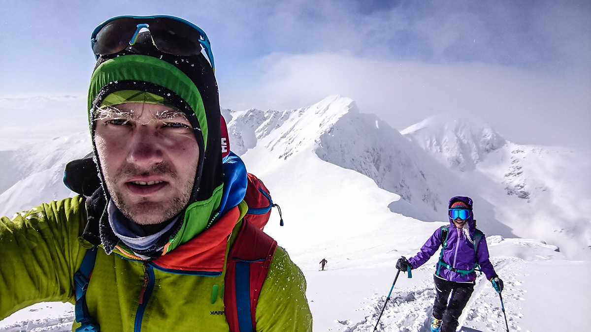 Tesne pod vrcholom Hrubá Kopa, Západné tatry