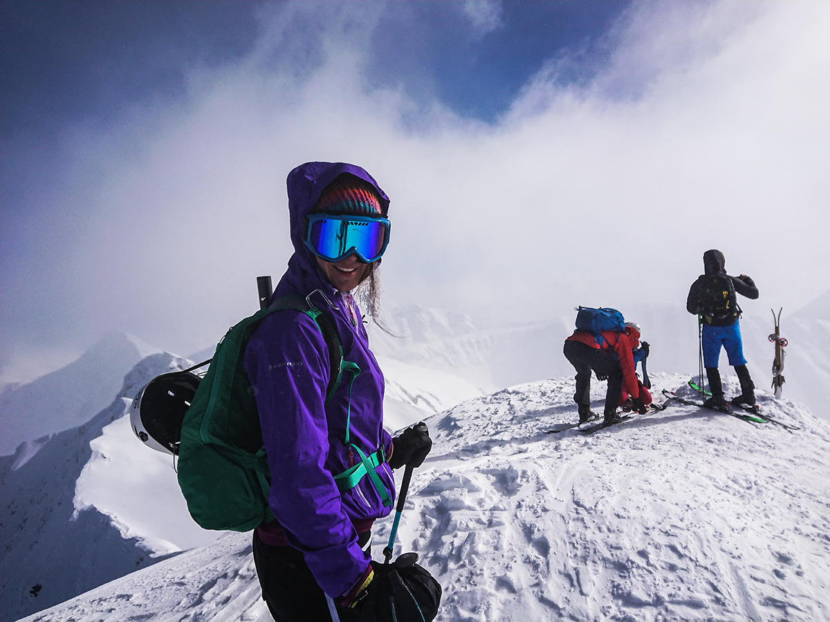 Vrchol Hrubá Kopa, skialpinizmus ,Západné tatry
