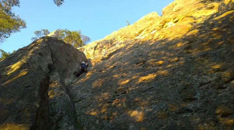 slovenské skaly lezezká oblasť súľov, sektor Tabuľa
