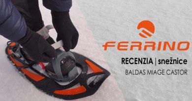 Outdoor recenzia: Snežnice Ferrino Baldas Miage Castor