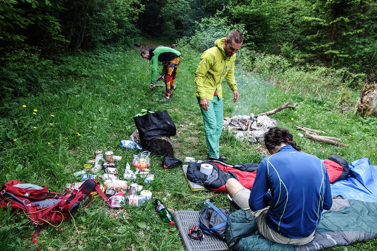 Priedhorie prespávanie a lezecká oblasť