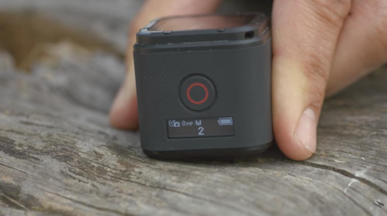 Zapnutie GoPro 4 session a time lapse fotografie
