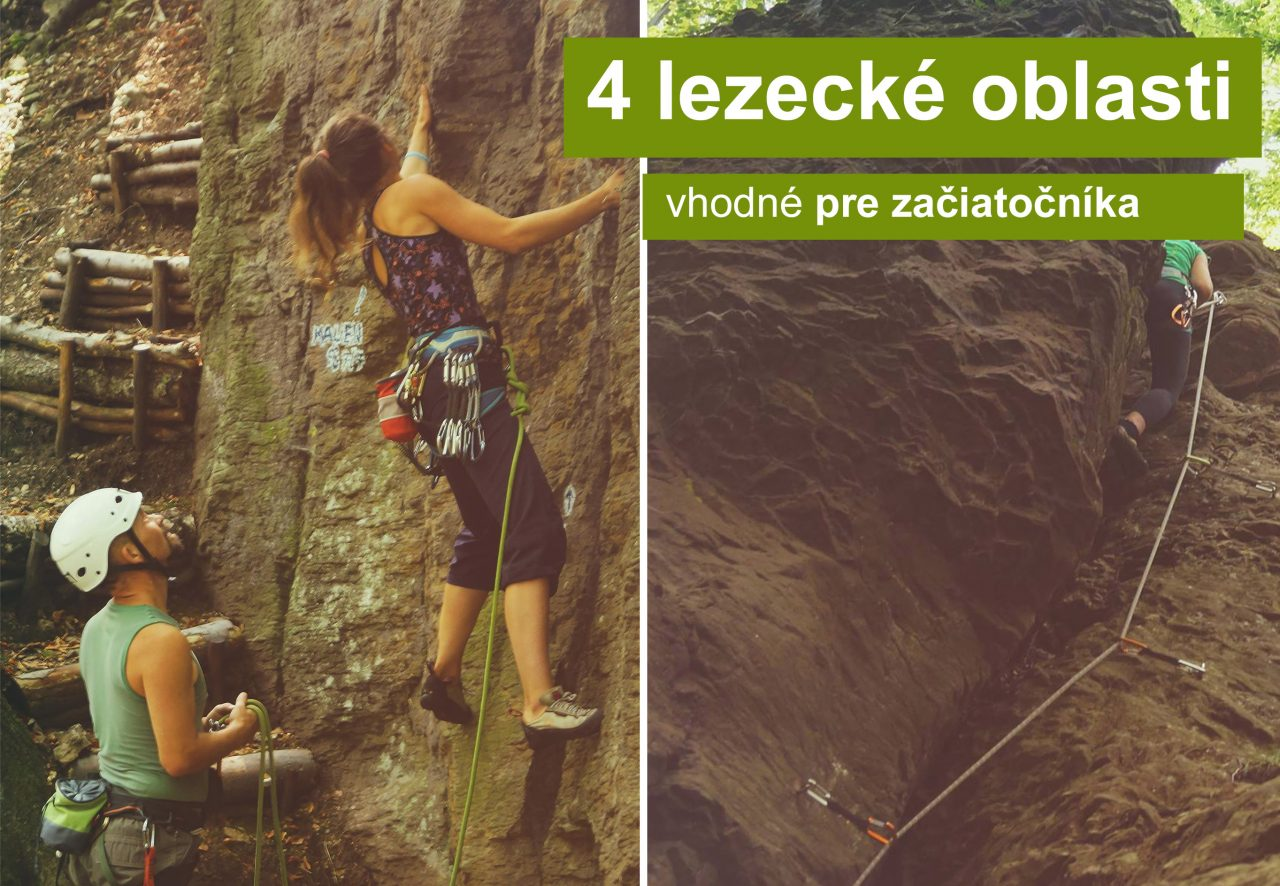 Expresky z hôr 60 - 4 lezecké oblasti vhodné pre začiatočníka, druhý diel