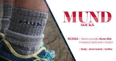 Merino ponožky Mund Altai | Outdoor recenzia