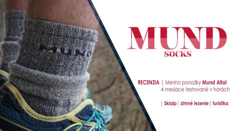 Ponožky z Merino vlny Mund Altai