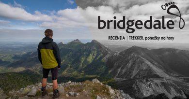 Outdoor recenzia: Bridgedale Trekker, ponožky na hory
