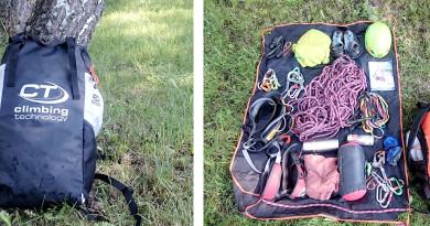 Predstavujeme: CT Falesia ropebag ruksak pod skaly, ktorý milo prekvapil objemom
