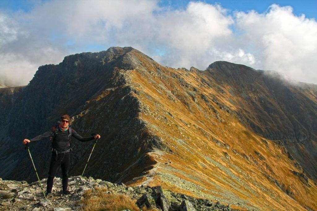 zajo peak v západných Tatrách