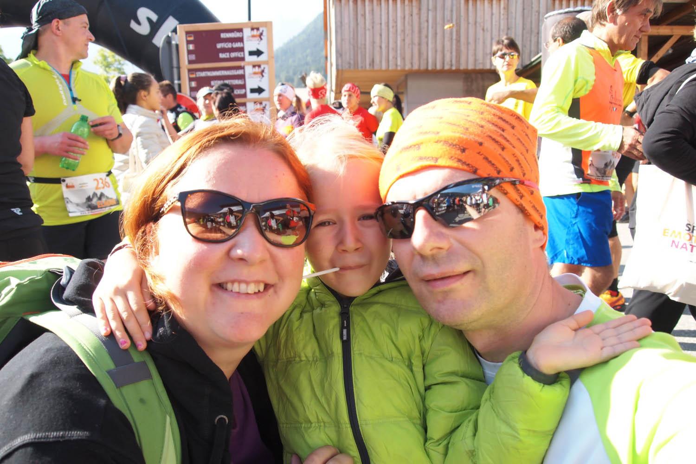 spoločná foto pred štartom a horský pretek môže začať