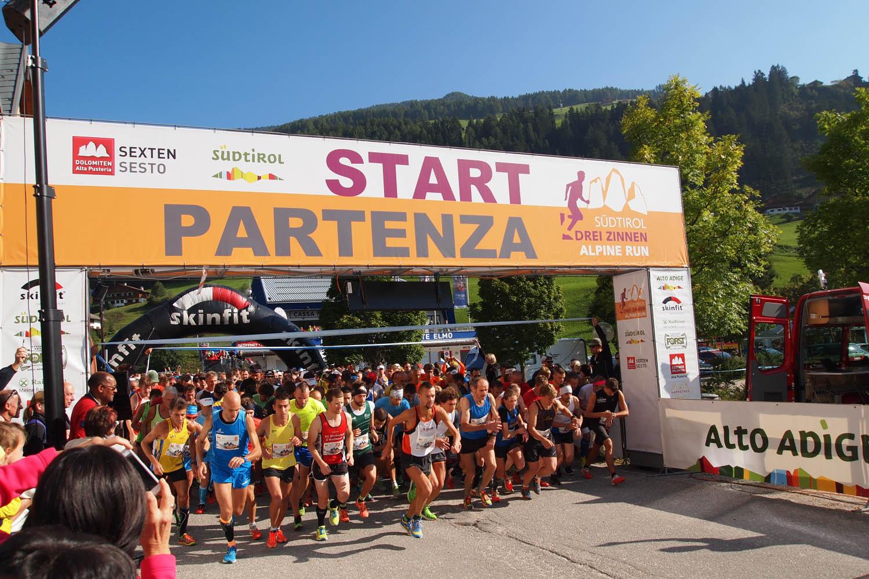 Horský pretek Drei Zinenn a už je odštartované
