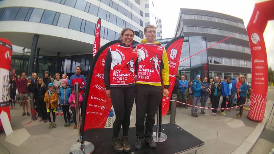 Expresky z hôr 23 - Víťazi Tom a Jasmin, zdroj: FB fanpage Tromso Skyrace