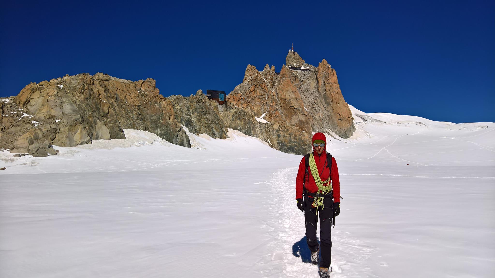 Expresky z hôr 31, Glacier du geant