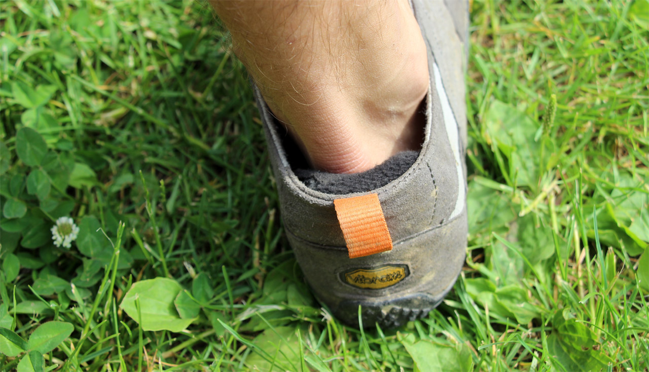 nesprávna veľkosť topánok
