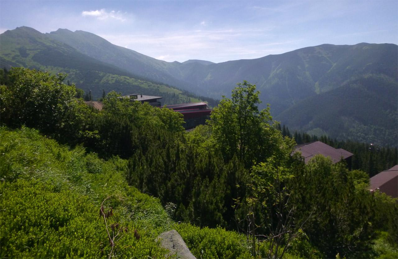 Chopok juh - chata Kosodrevina