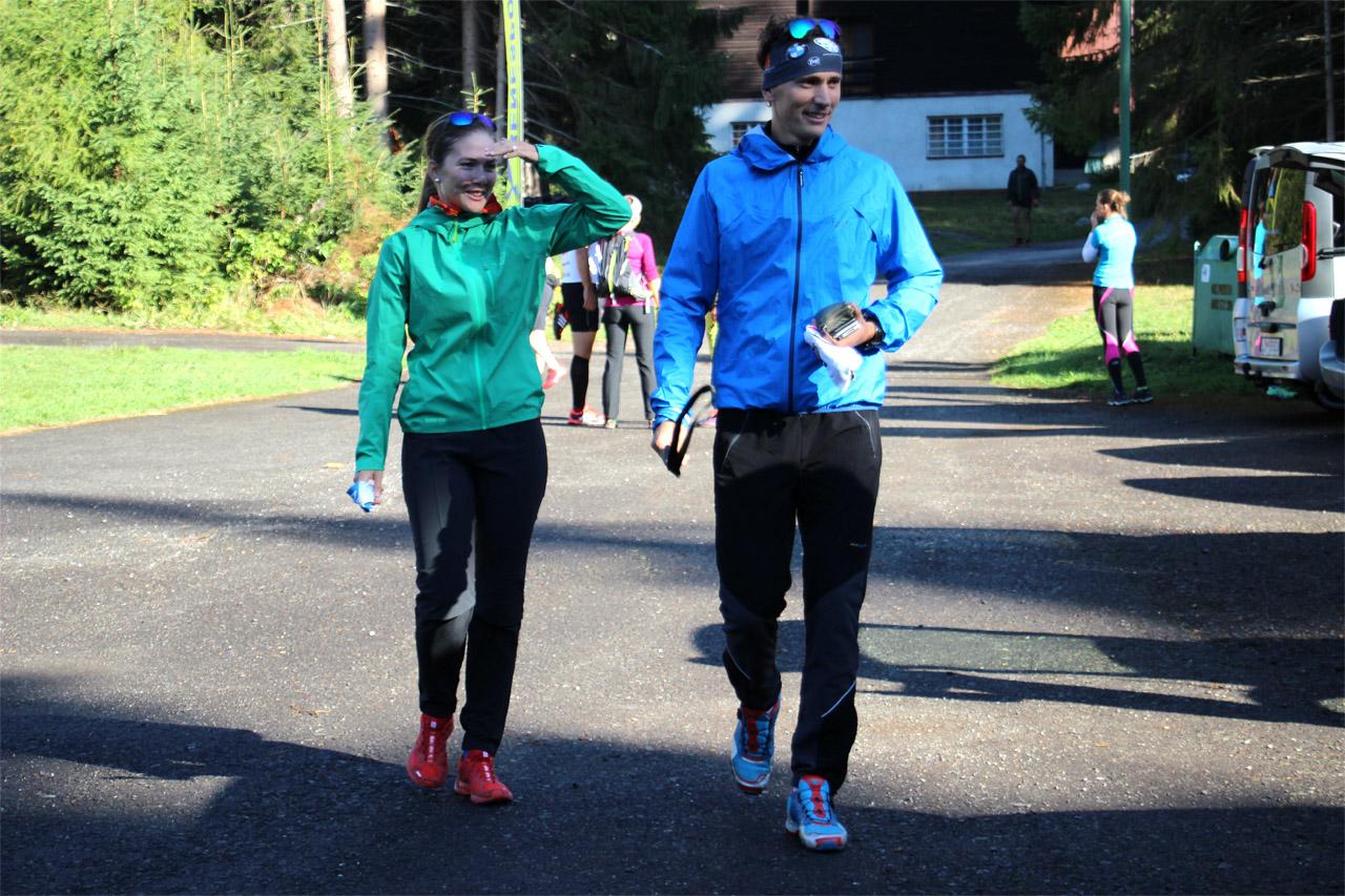 Matúš Vnenčák s priateľkou sa tiež zúčastňujú na akcii Beh cez Klin