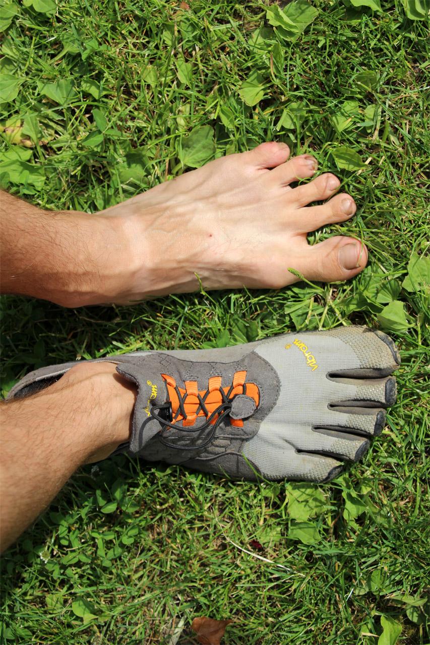 Vibram Fivefingers Trek Ascent - priestor na roztiahnutie prstov