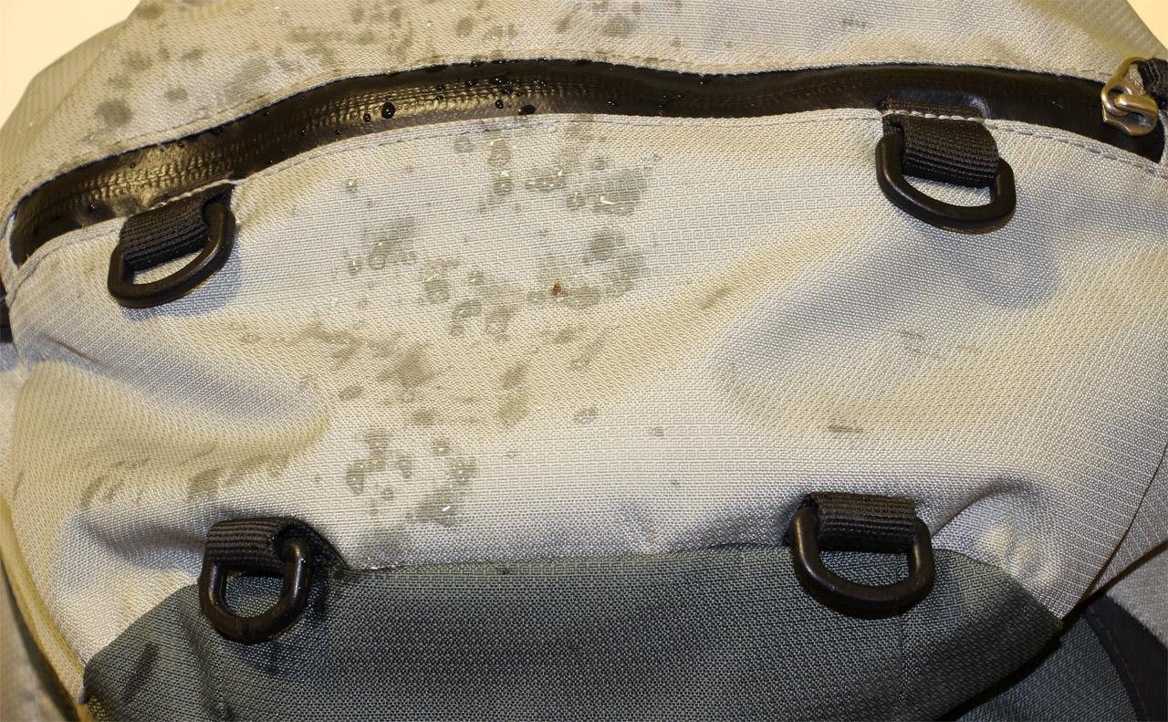 vodoodolnosť batohu Deuter Guide 45+
