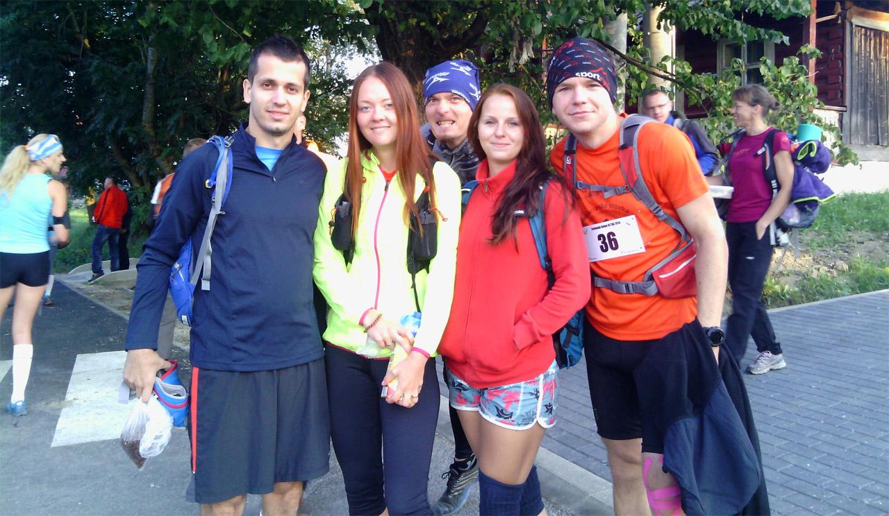 Tatranská šelma ultra 2015: Čakanie na odchod autobusov v Ždiari
